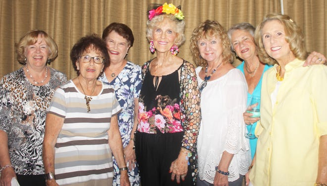Polly Lally, Eleanor, Carracato, Pam Molander, Susie Walsh, Cindy Crane, Dottie Daniels and Betsy Wohltman are longtime friends.
