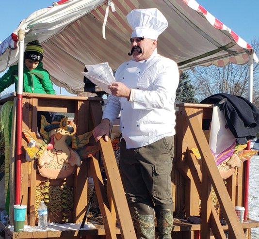 Food Drive Chefs Outfit