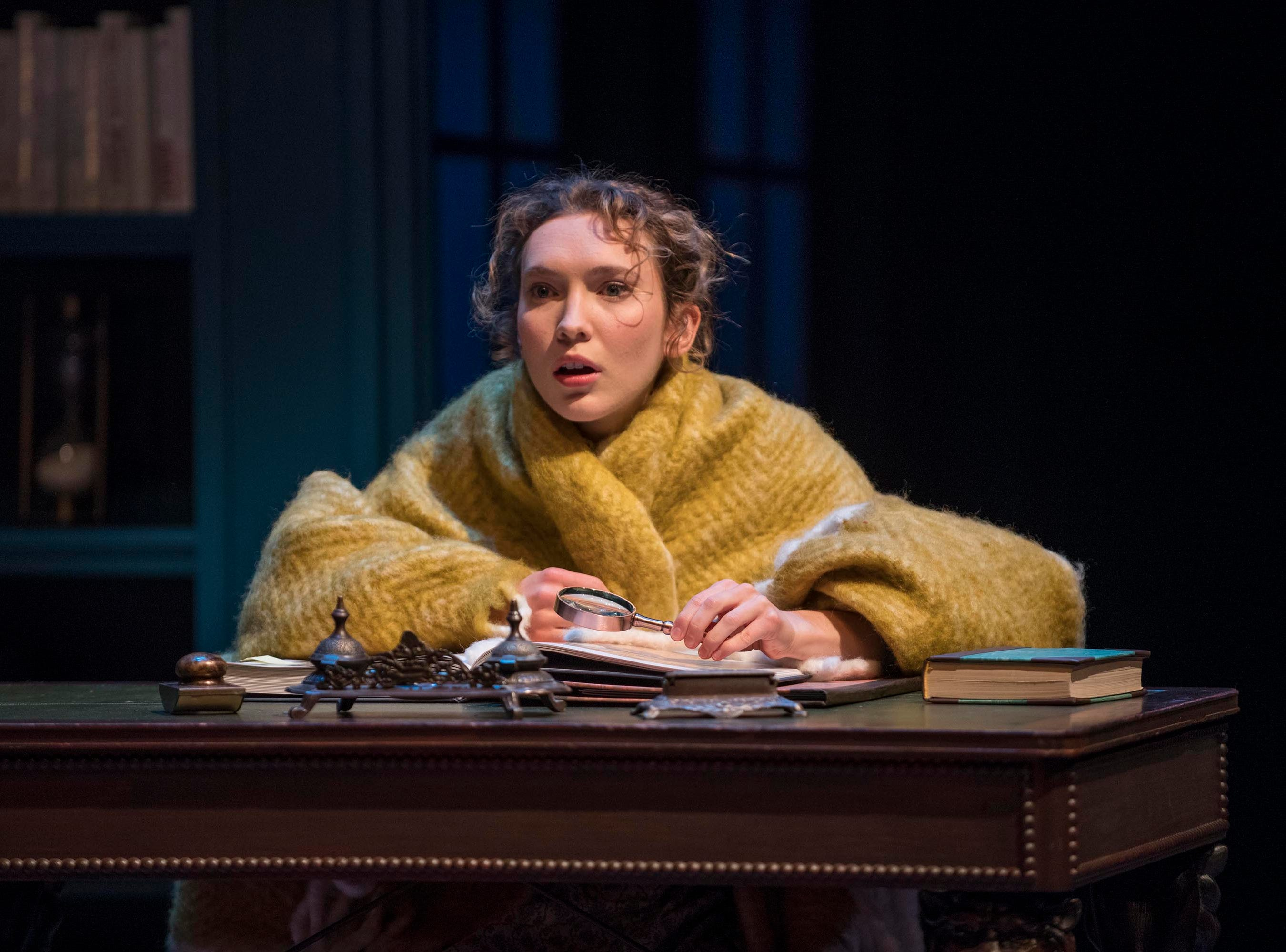 """Rebecca Hurd considers what she's reading in Milwaukee Repertory Theater's """"Miss Bennet: Christmas at Pemberley."""""""