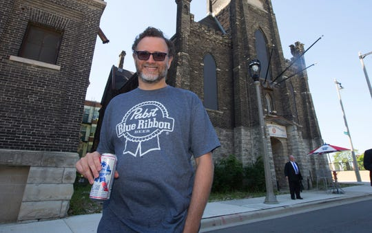 Pabst Brewing Co. chairman and chief executive officer Eugene Kashper stands at the Pabst Brewing complex in Milwaukee in 2015.