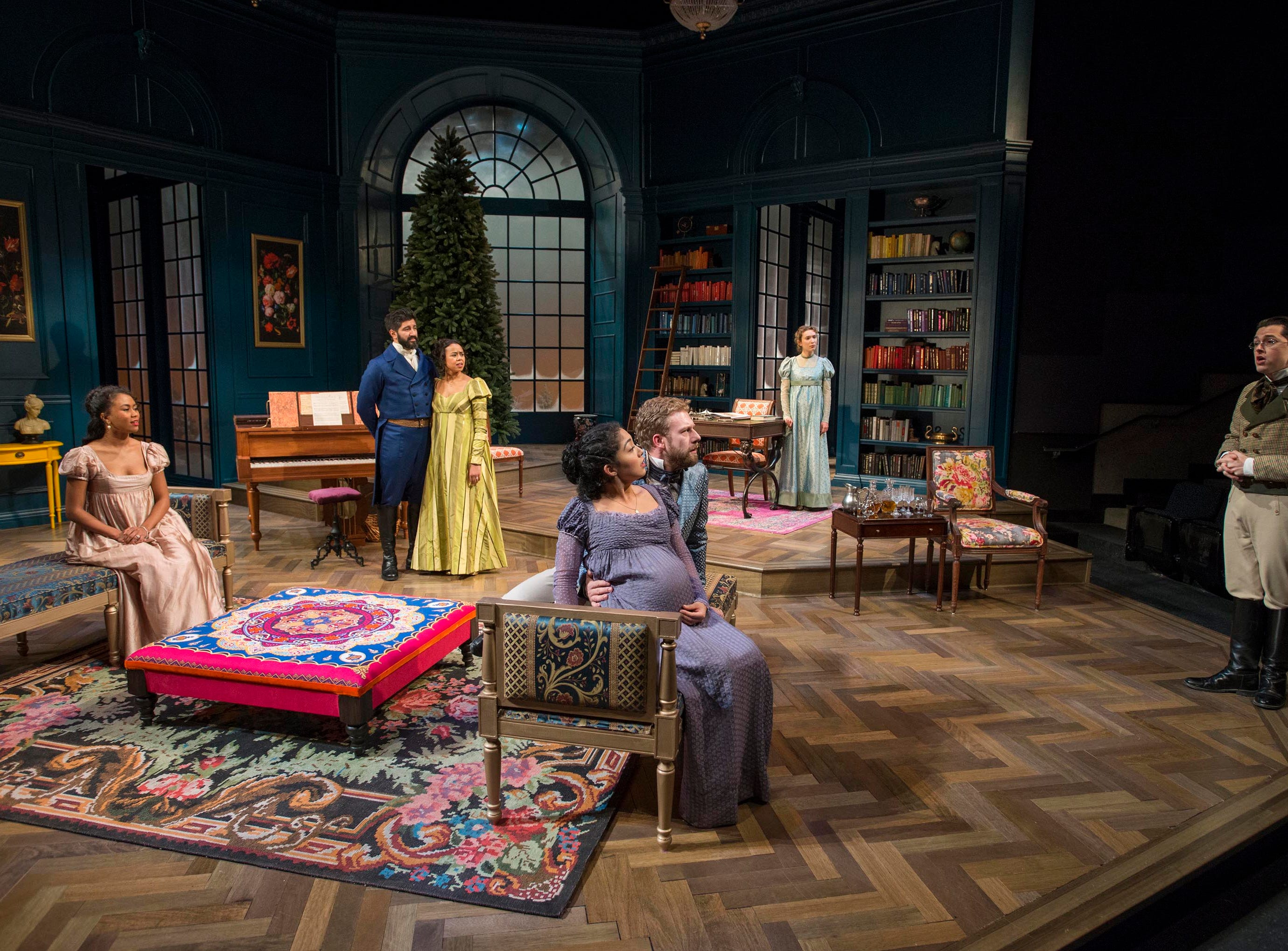 """Milwaukee Repertory Theater performs """"Miss Bennet: Christmas at Pemberley."""""""