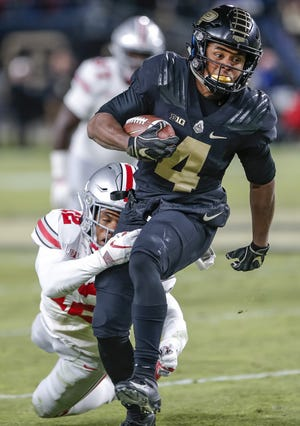 Purdue freshman Rondale Moore has 26 plays of 20 yards or more this season.