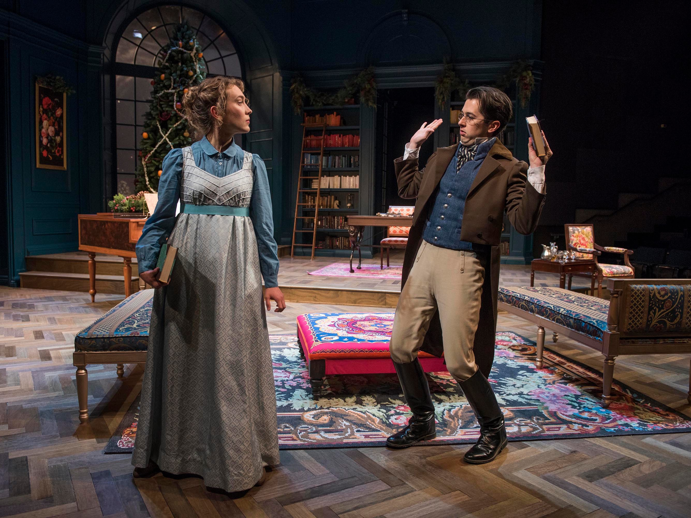 "Milwaukee Repertory Theater performs ""Miss Bennet: Christmas at Pemberley."""
