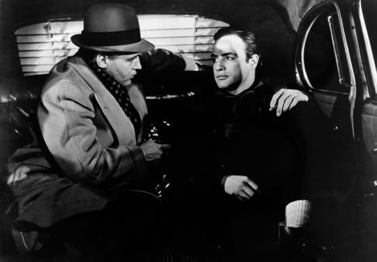 "Marlon Brando tells Rod Stieger he ""coulda been a contender"" in the 1954 movie ""On the Waterfront."""
