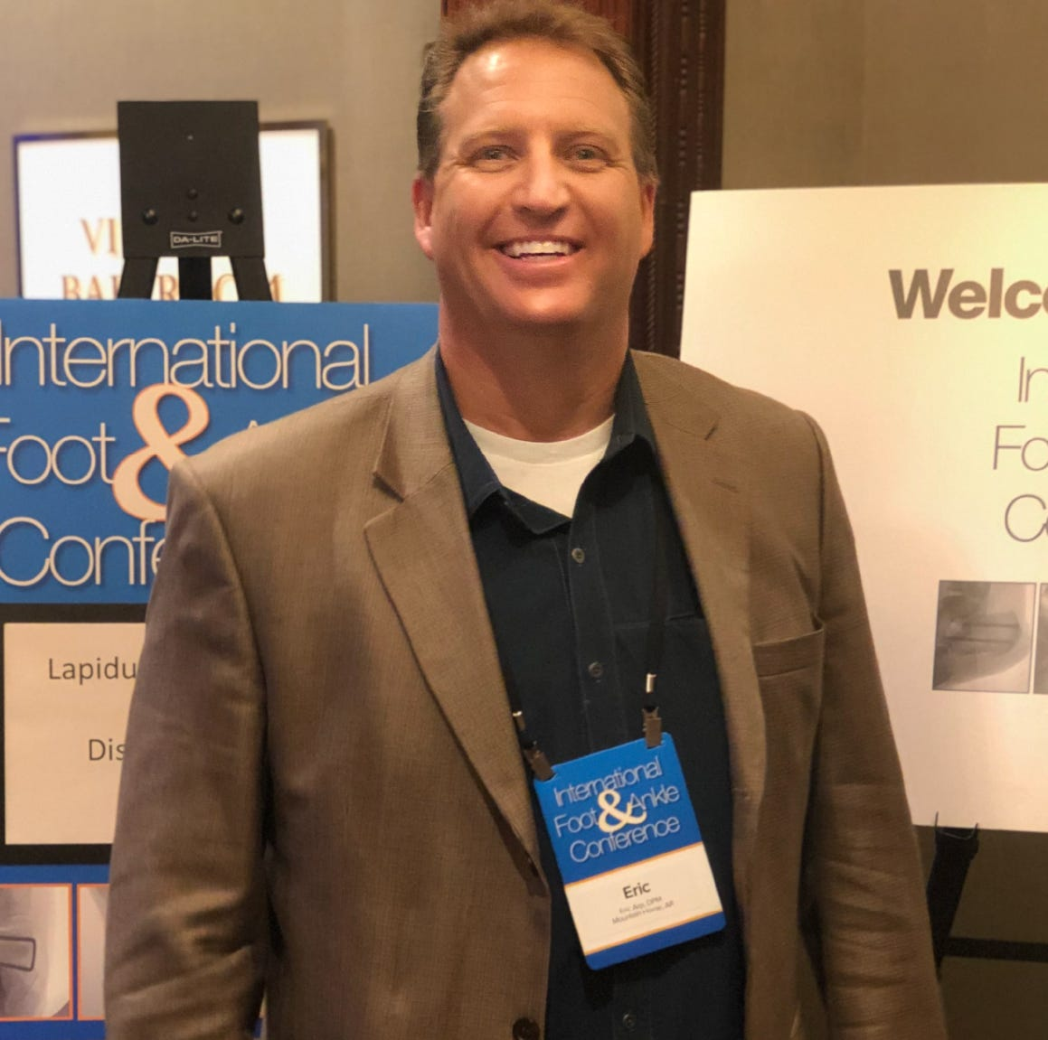 Dr. Arp attends training at Foot and Ankle Surgeons Conference