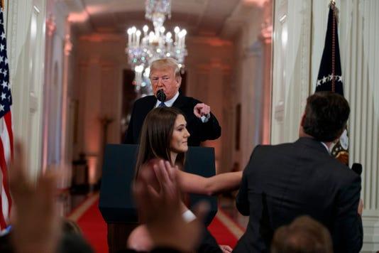Donald Trump Jim Acosta