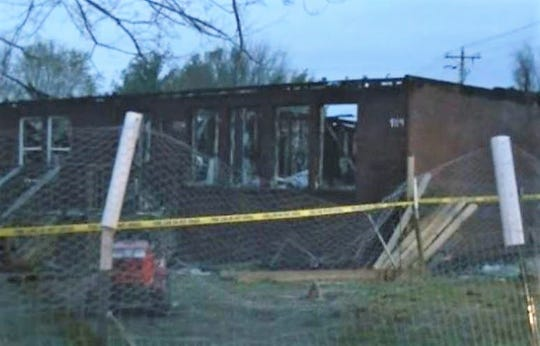 Judith Johnson is accused of causing a March 27 house fire on Sulphur Springs Road near Allen Road.