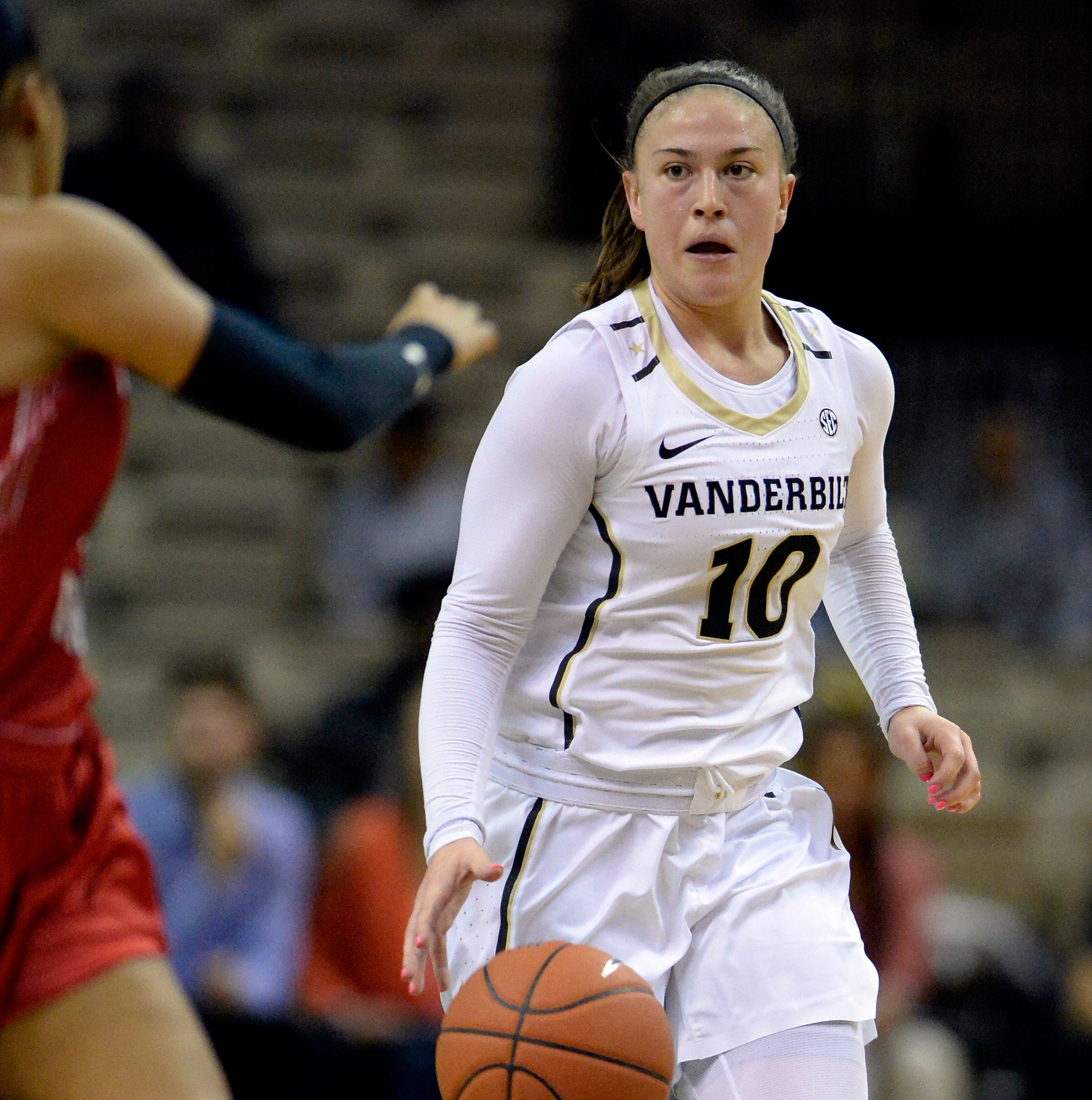 Vanderbilt's Cierra Walker transferring, sixth player in three years to leave