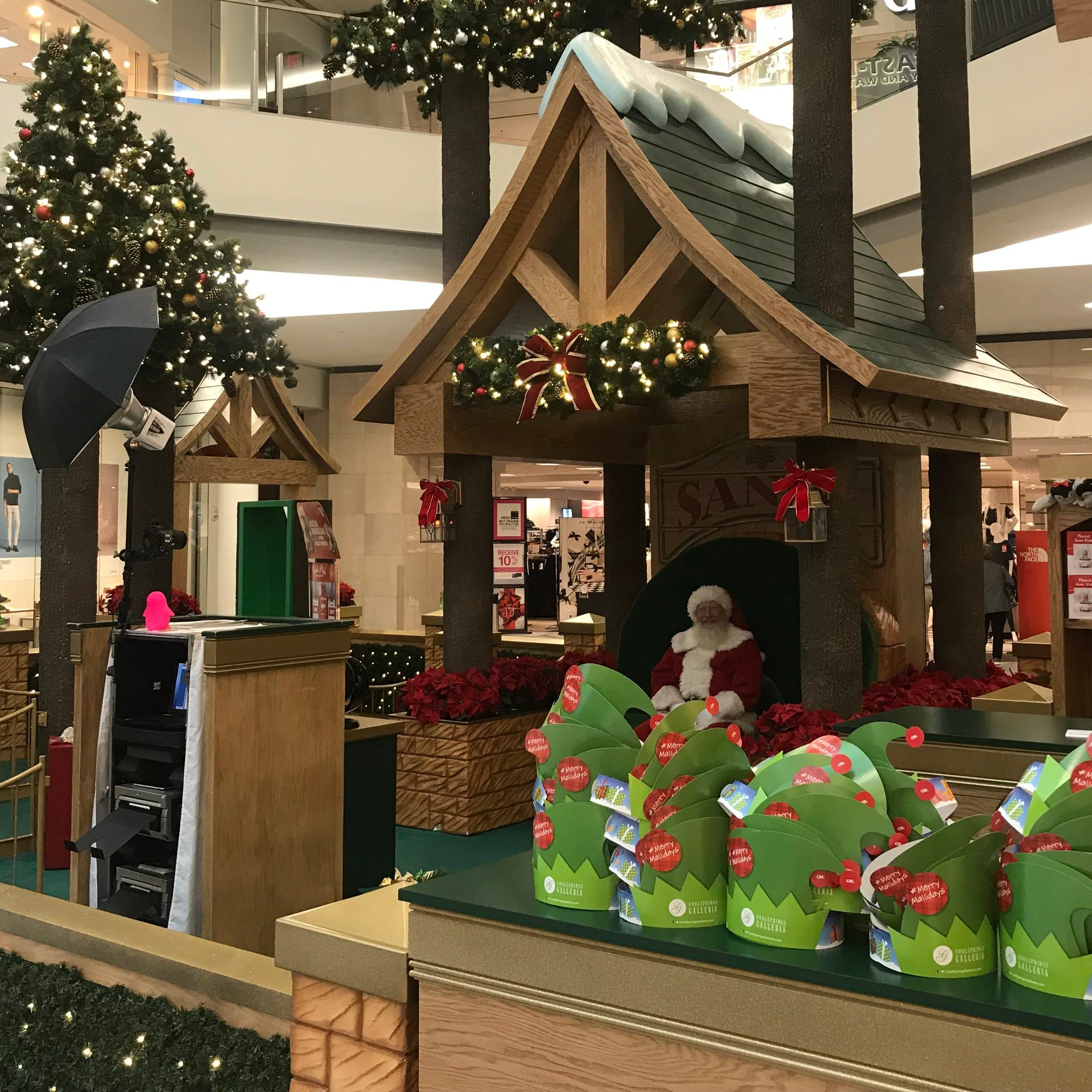 Here comes Santa Claus? Retail push for Christmas is too early for Ms. Cheap