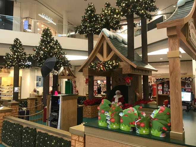 CoolSprings Galleria has been set up for visits with Santa Claus since Nov. 9.