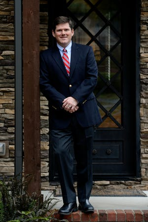 Bob Freeman at his house on Tuesday in Nashville. Freeman was elected to the Tennessee House District 56 last week.