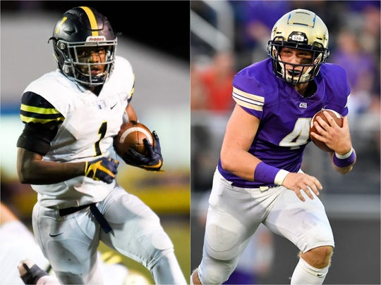 Lausanne's Eric Gray (left) and CPA's Kane Patterson (right)
