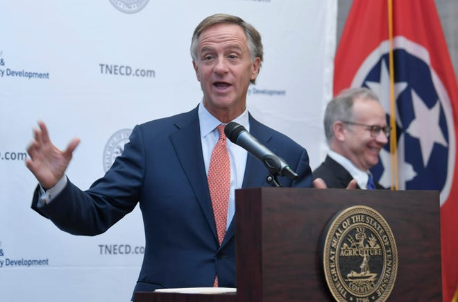 Gov. Bill Haslam will speak about higher education at 6 p.m. Monday, Dec. 10, at the Nashville Public Library.