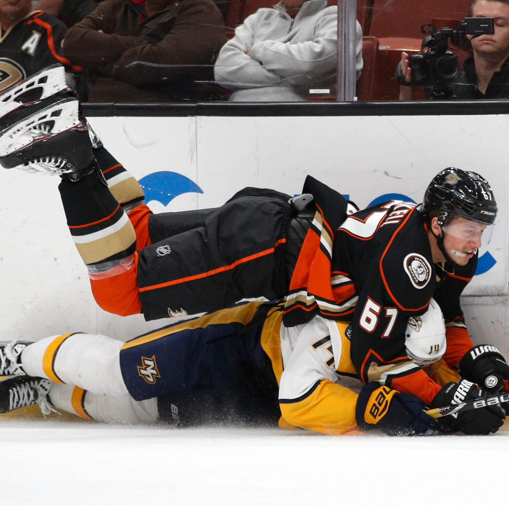 Monday's recap: Ducks 2, Predators 1 (SO)