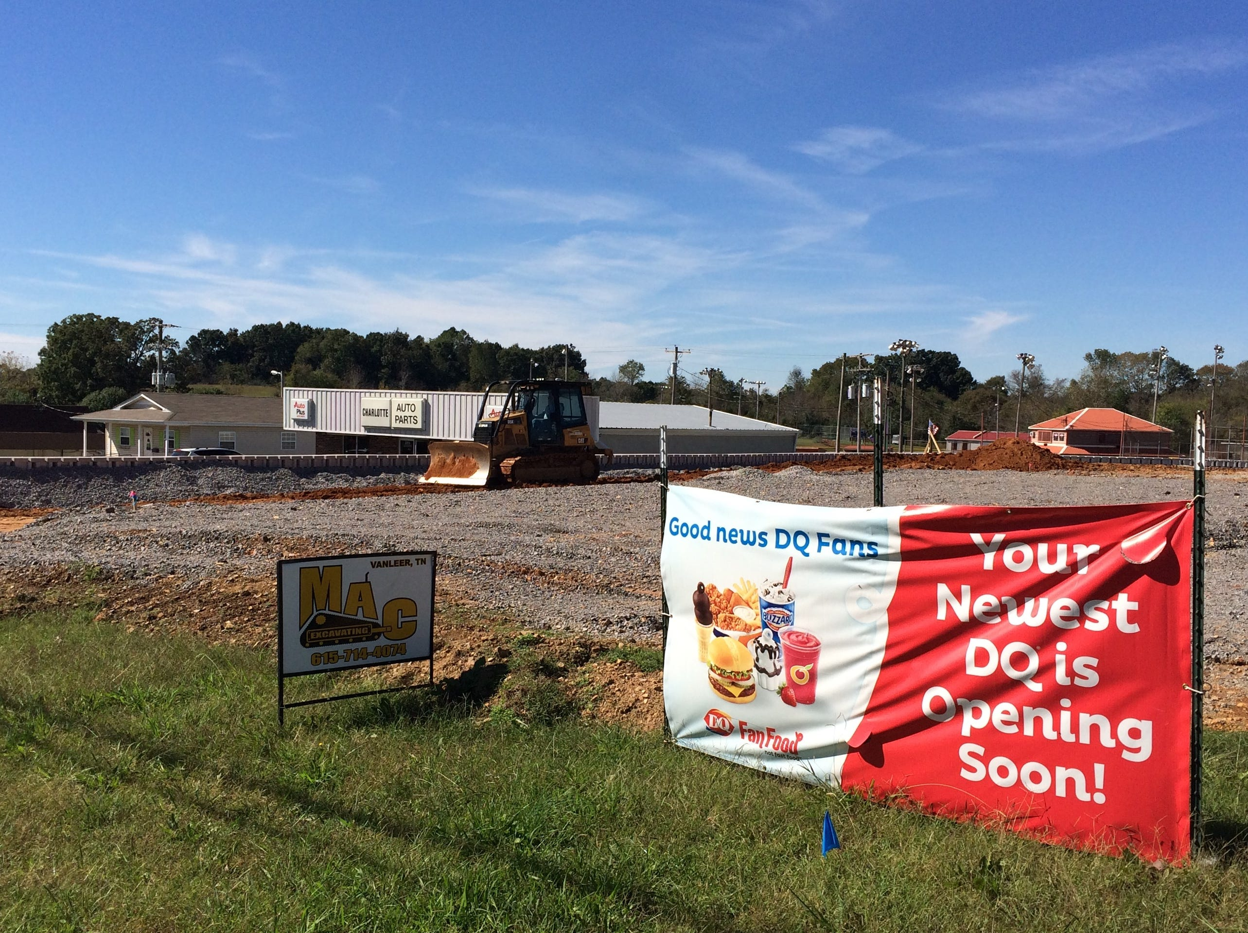 Charlotte Dairy Queen: 12 years in making, February open planned