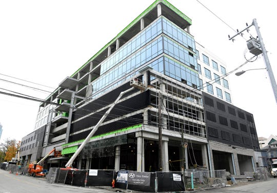 18th & Chet is an office/retail building on Music Row. EY will move 600 employees to offices there next year.