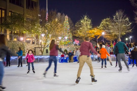 Enjoy a brisk skate before gathering for hot chocolate at the United Community Bank Ice on main event.