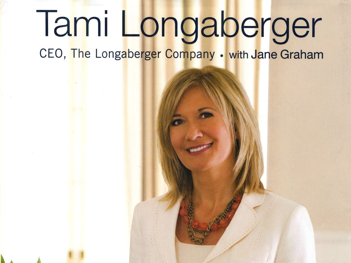 Tami Longaberger's first book is Weaving Dreams: The Joy of Work, The Love of Life.