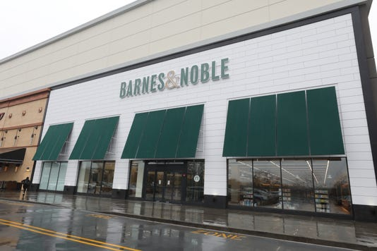 A Media Preview Event At The New Barnes Noble In Hackensack The Store Is Part Of The Company S New Prototype Stores And Will Be The First In Nj