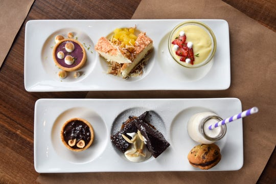 Dessert flights -- all works of art by Vanillamore