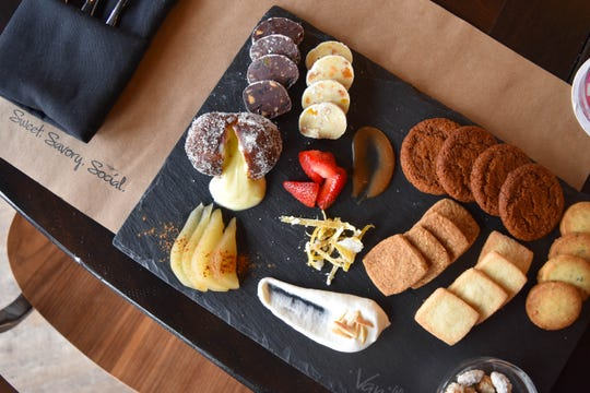 Heard of cheese charcuterie? How's about dessert charcuterie...at Vanillamore in Montclair