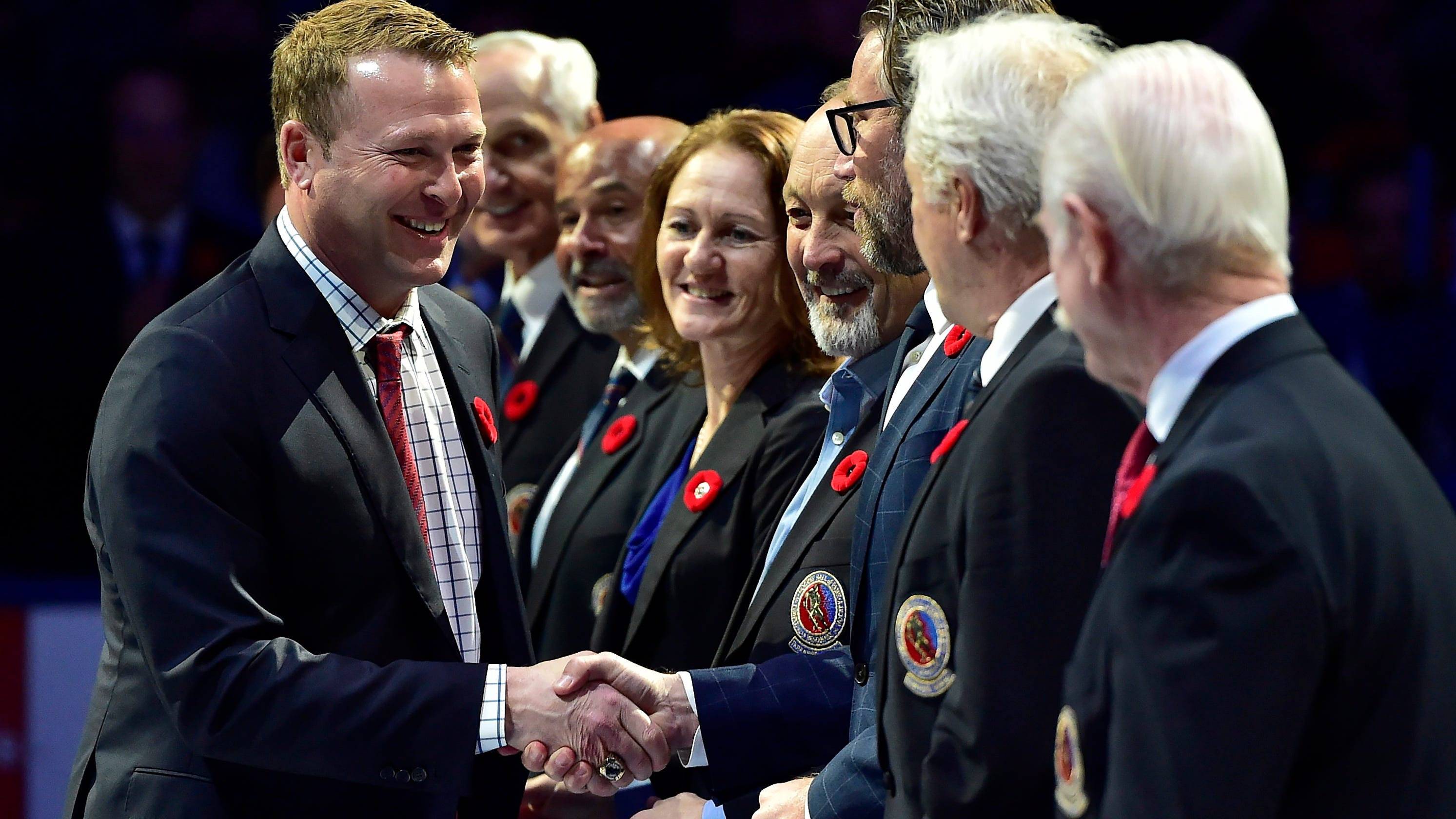 2018 Hockey Hall Of Fame Induction Martin Brodeur Thanks Devils Fans