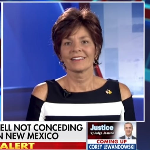 On Fox, Herrell alleged 'documented complaints' about election. Then she went silent.