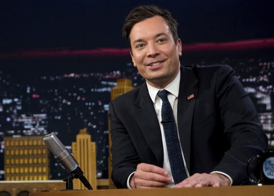Ap Trump Jimmy Fallon A Eln Ent File Usa Ny