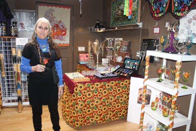 Gloria Marie, owner of Globug, 926 N. New York Ave., will be offering discounts and sales for Small Business Saturday and encourages shoppers to buy local for the holidays.