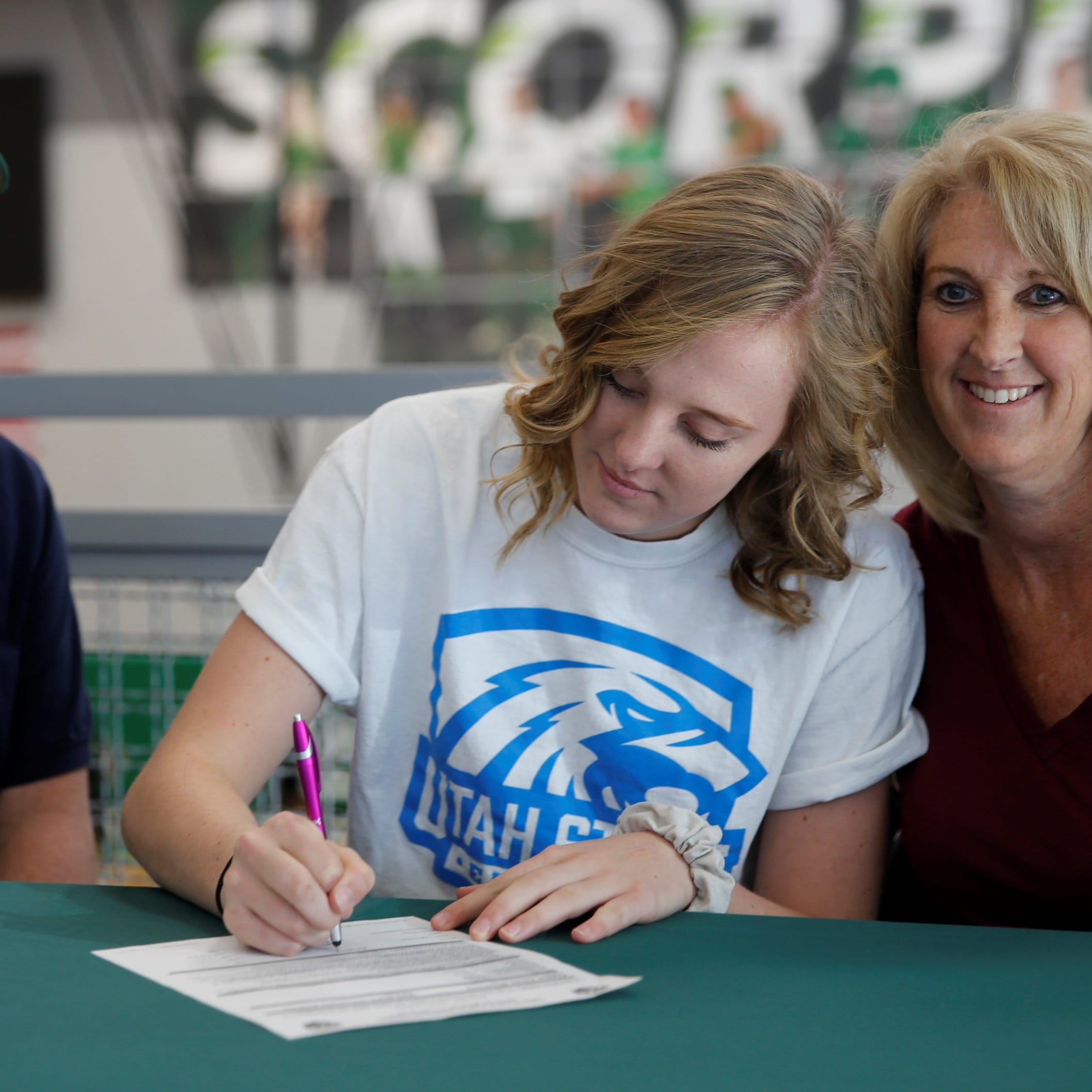 Farmington player signs with Utah State Eastern volleyball