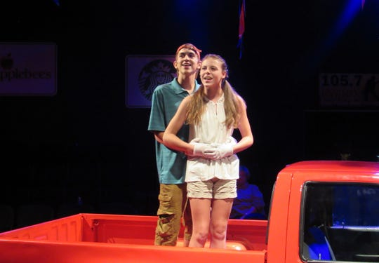 Nicholas Alessandrini as Greg Wilhote, Courtney Vickers as Kelli Mangrum.