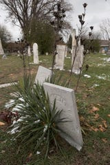 Union Cemetery, also known as Briggs Cemetery, is located on the grounds of Trinity House Theater.