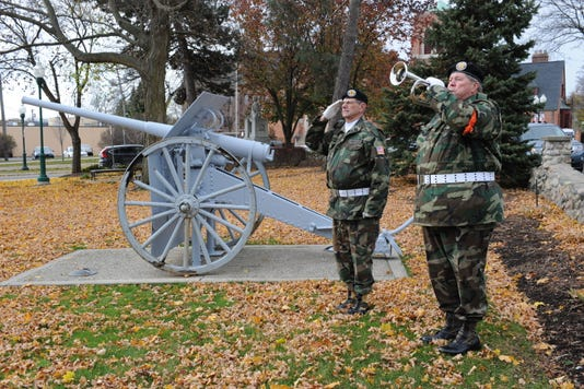 PLY veterans bugle