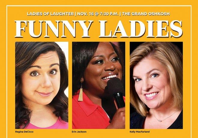 The Ladies of Laughter Funny & Fabulous Tour returns Nov. 16 to The Grand Oshkosh.