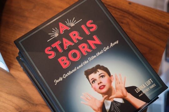 Lorna Luft's book, A Star is Born, sits in Just Fabulous in Palm Springs, Calif. on Tuesday, November 13, 2018.