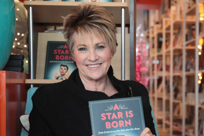 Lorna Luft poses for a photo in Just Fabulus in Palm Springs, Calif. on Tuesday, November 13, 2018.