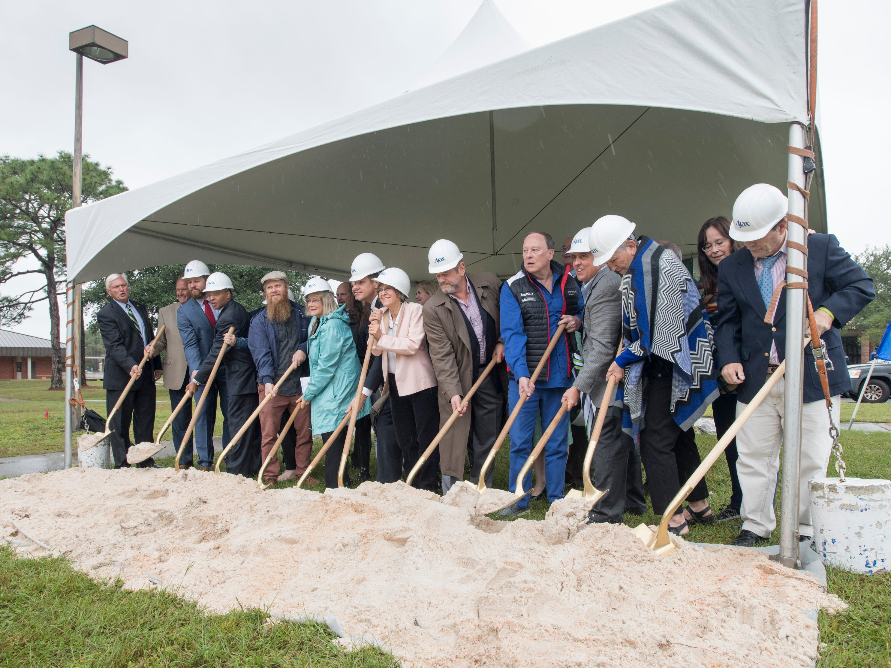 Pensacola State College breaks ground on east wing of new STEM building