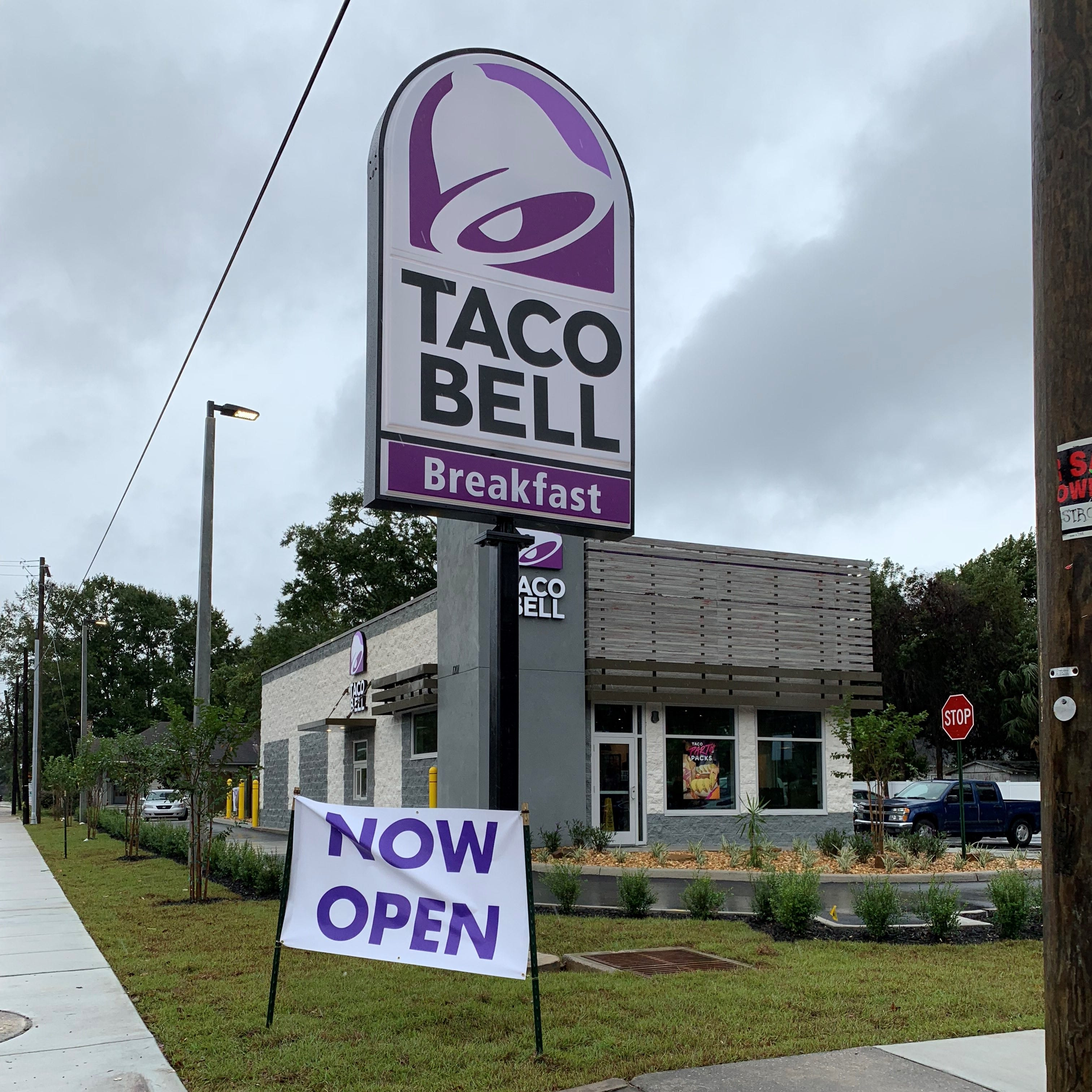 East Hill's Taco Bell opens after compromises with residents on design