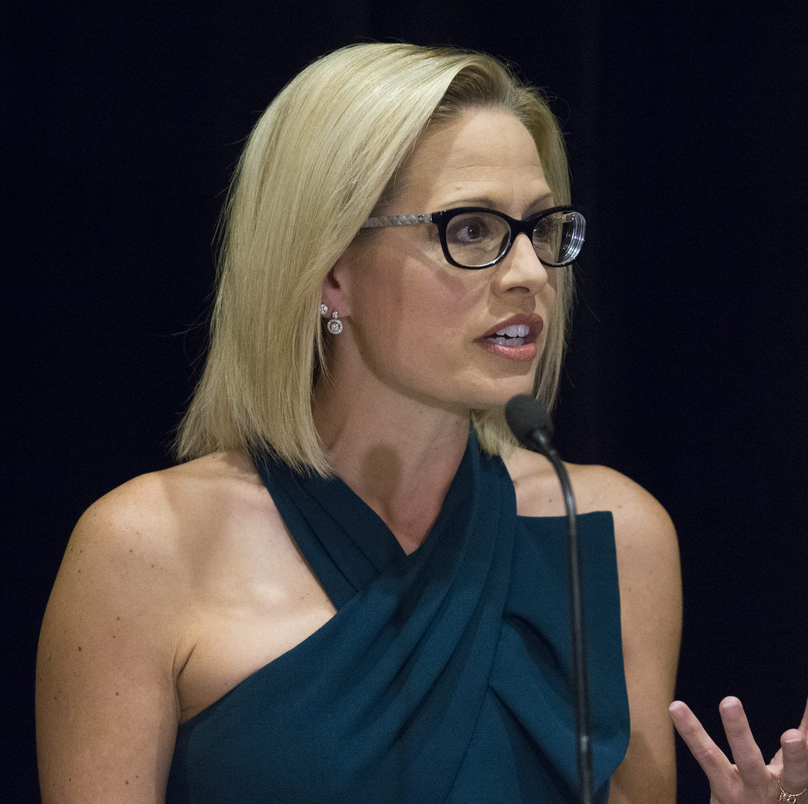 Sen. Kyrsten Sinema to get her chance to confront Attorney General William Barr. Will she?