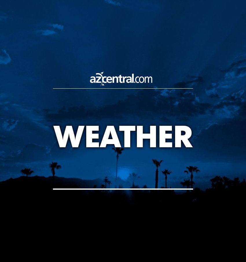 Light rain hits areas of Maricopa County; snow in northern Arizona