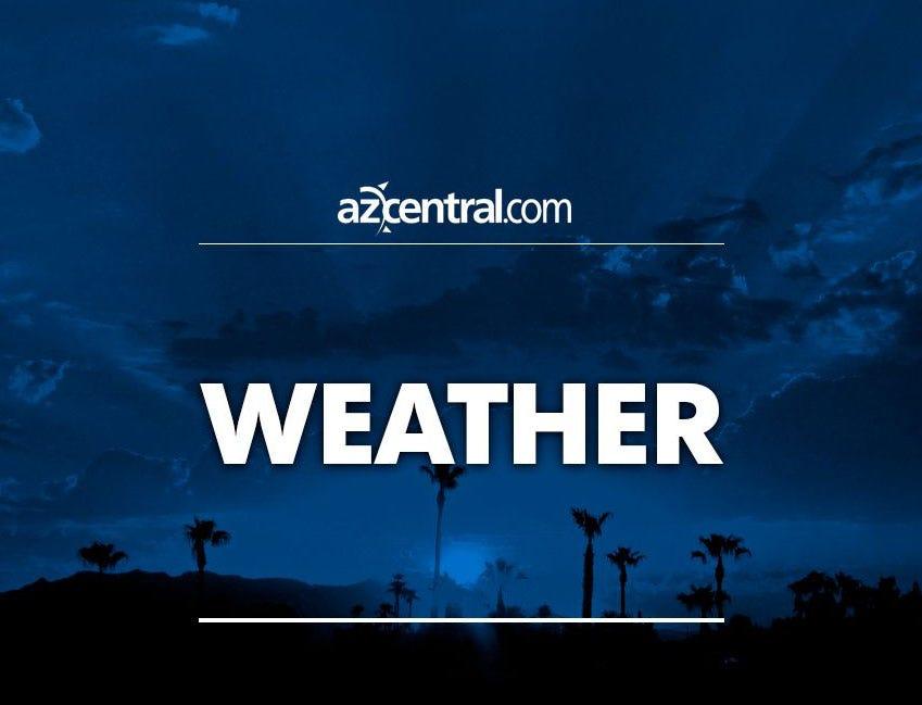 Light rain hits areas of Maricopa County; snow in northern Arizona