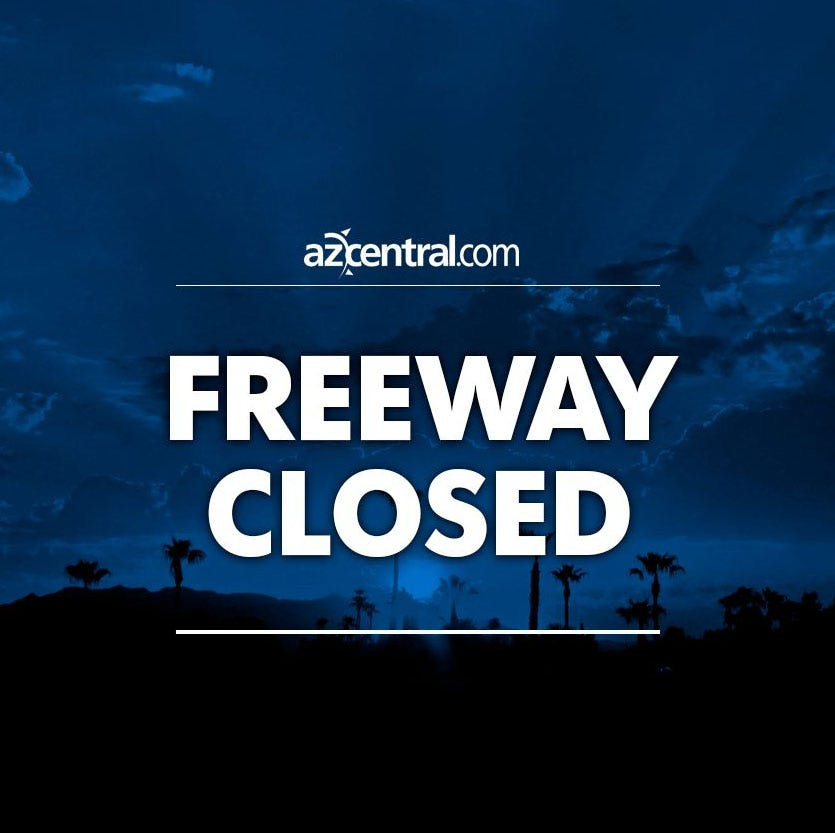 Fatal crash closes eastbound U.S. 60 at Higley Road in Mesa; truck runs over ejected driver, flees