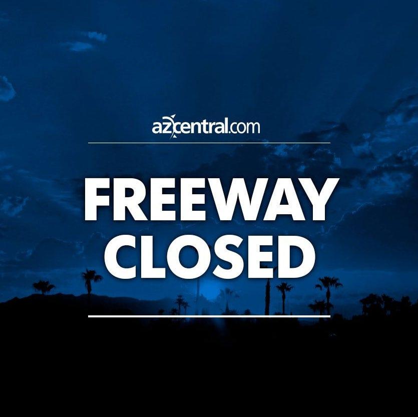 Fatal crash closes eastbound U.S. 60 at Higley Road in Mesa; truck runs over ejected driver, flees
