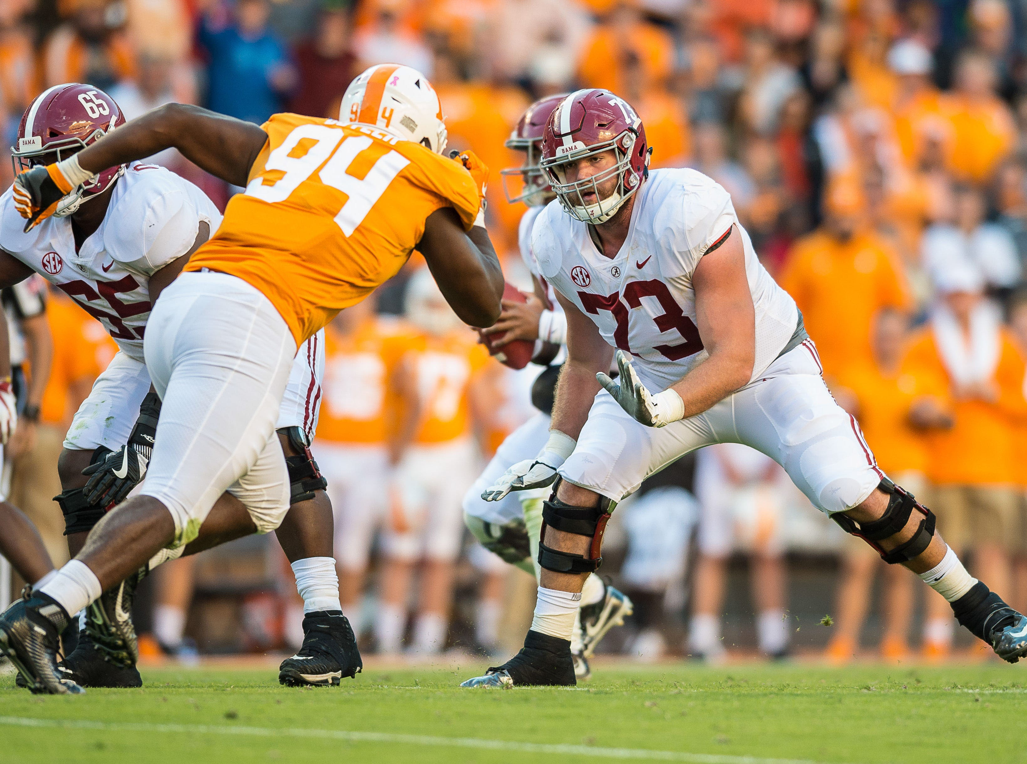 Alabama Crimson Tide offensive lineman Jonah Williams is a trendy pick for the Arizona Cardinals in NFL mock drafts for the first round of the 2019 NFL draft.