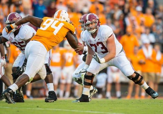 Ncaa Football Alabama At Tennessee