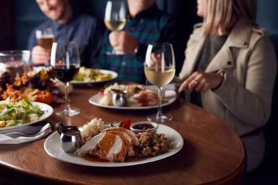 The Thanksgiving dinner at The Keg.