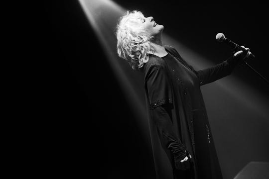 """There's nothing quite like that something that happens between an audience and performer,"" Petula Clark says of performing live."