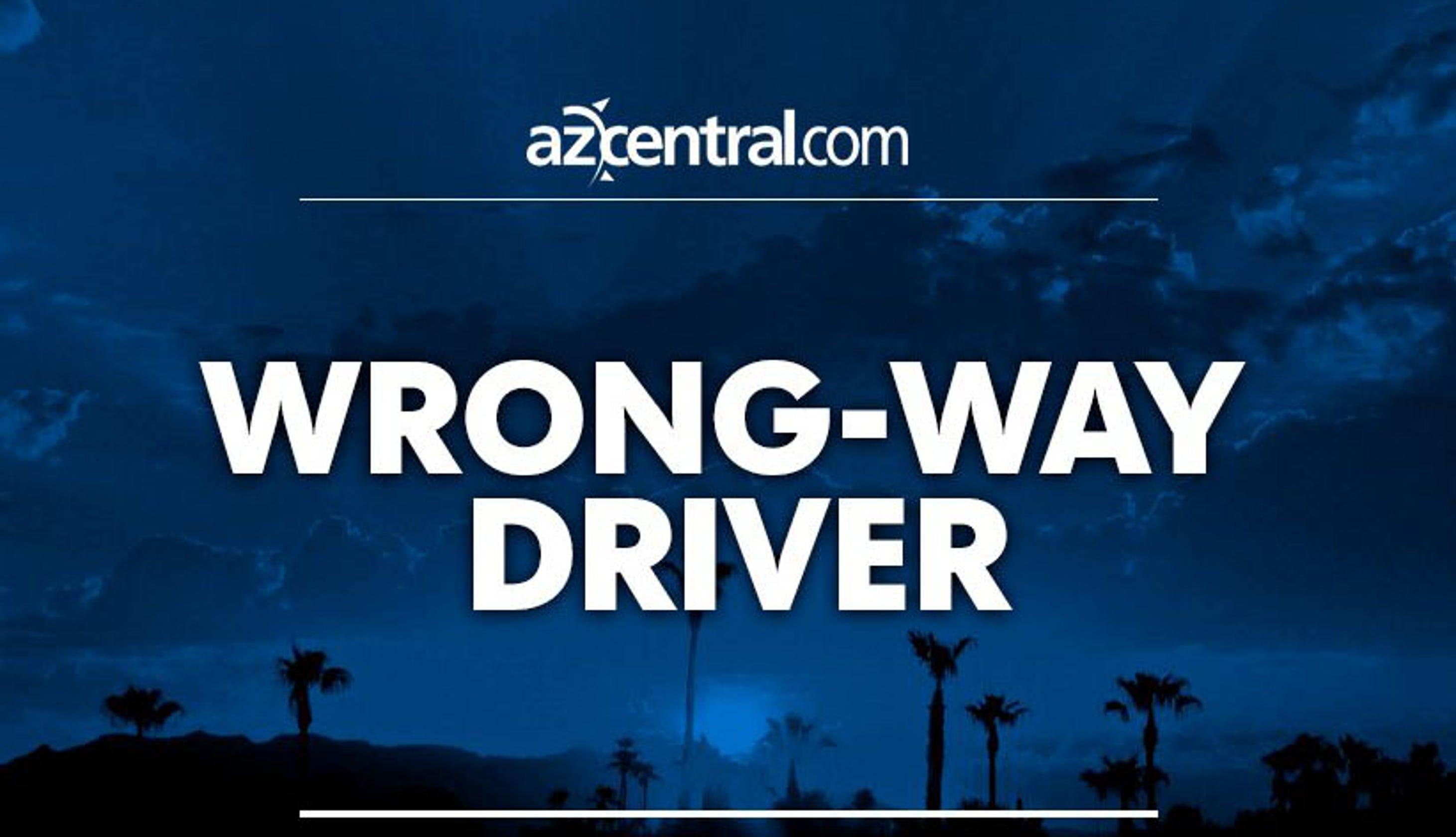 Five fatalities in wrong-way crash west of Kingman on I-40