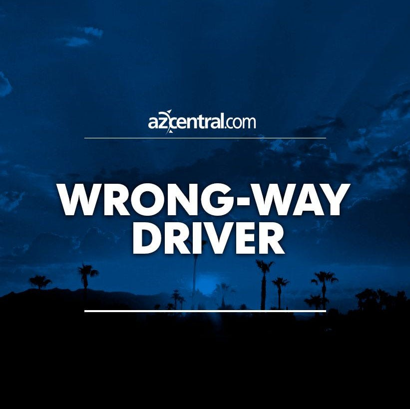 4 injured in crash involving wrong-way driver on Loop 202 in Mesa