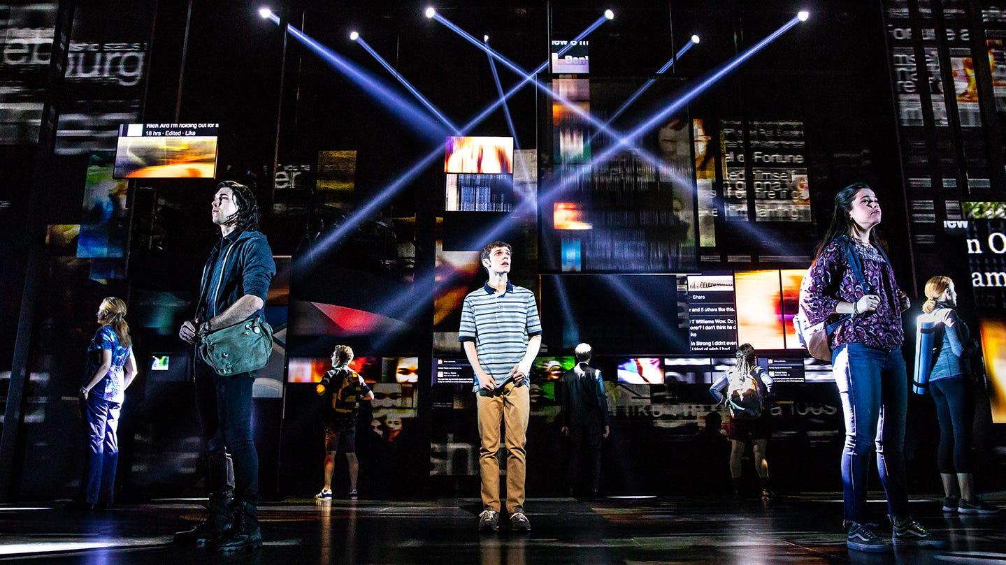 Dear Evan Hansen Lottery >> Review: 'Dear Evan Hansen' national tour at ASU Gammage